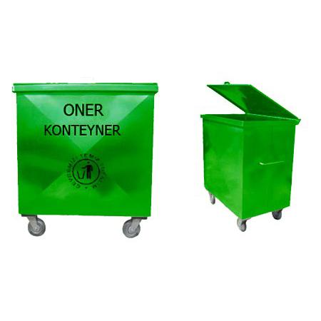 ONE-400-Elektrostatik-Firin-Boyali-cop-konteyneri-1