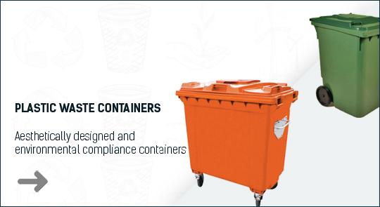 plastik çöp konteynerler