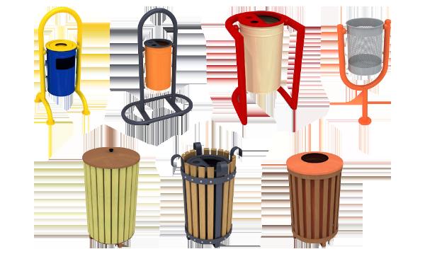 oner container - dış mekan çöp kovaları